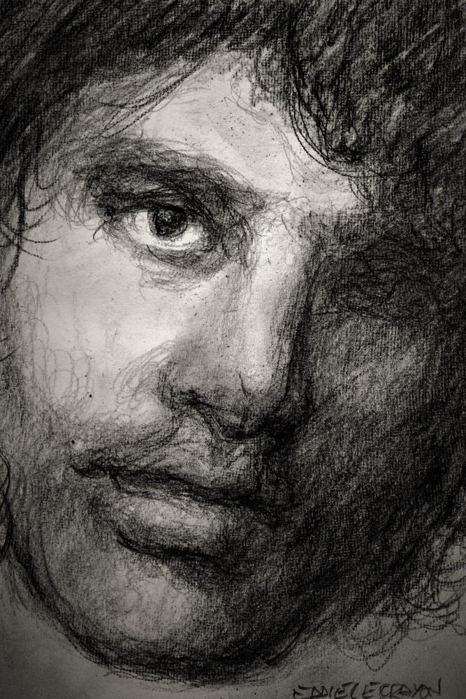 Jim Morrison by EddieLeCrayon